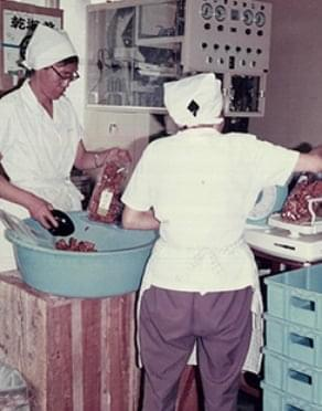 1946年の創業当初の写真