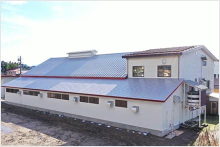 木津工場増築工事が竣工いたしました。